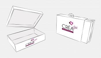 plv bo te fond couvercle avec fourreau packaging. Black Bedroom Furniture Sets. Home Design Ideas